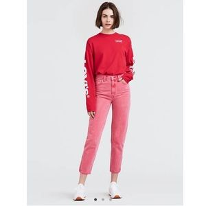 LEVI'S • mom zipper jeans